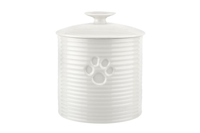 Sophie Conran for Portmeirion White Pet Treat Jar 16.5cm
