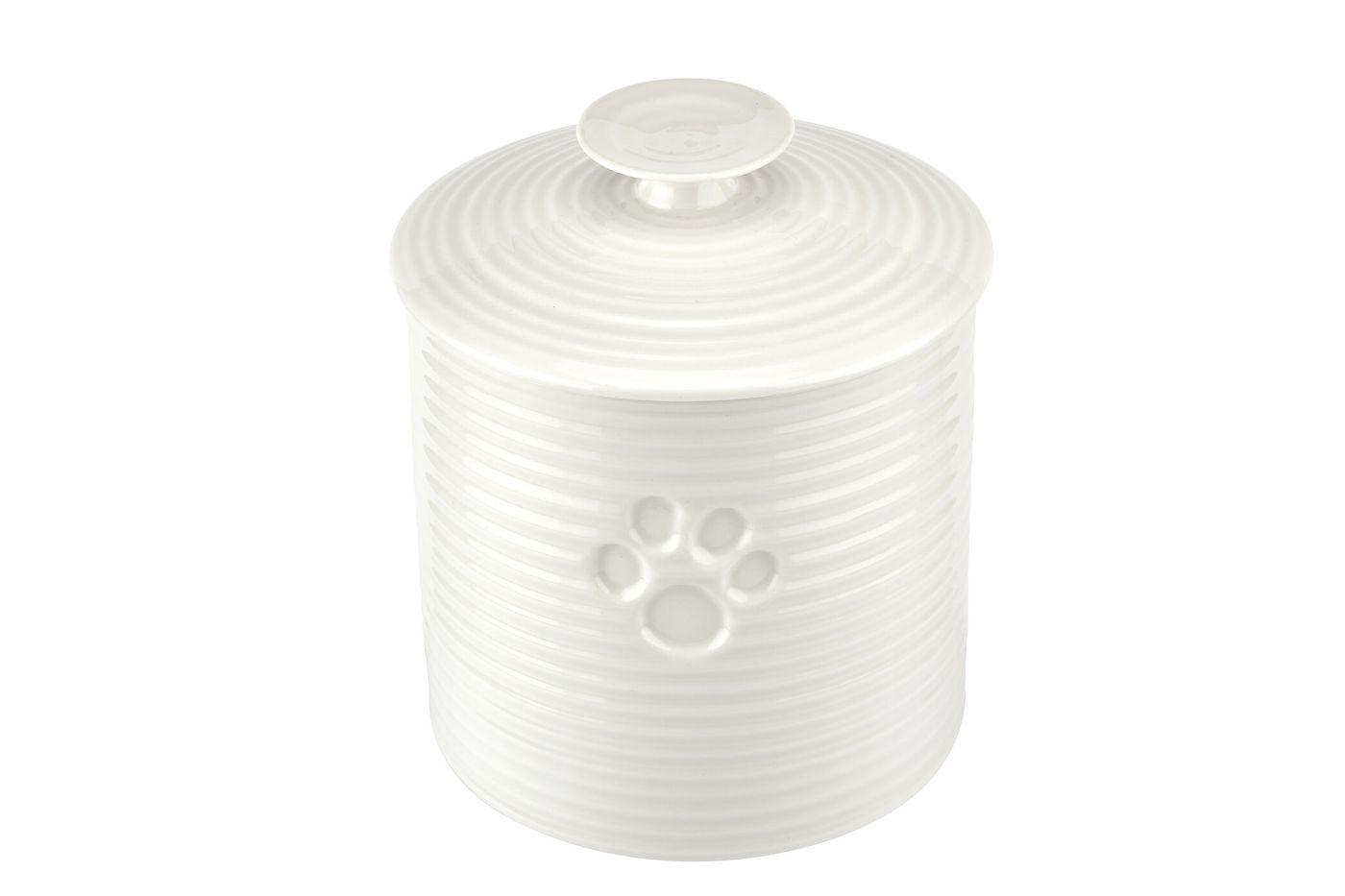 Sophie Conran for Portmeirion White Pet Treat Jar 16.5cm thumb 2