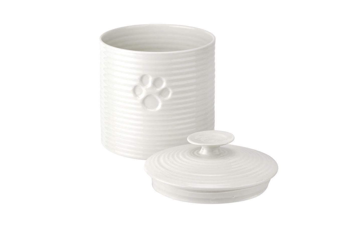 Sophie Conran for Portmeirion White Pet Treat Jar 16.5cm thumb 3
