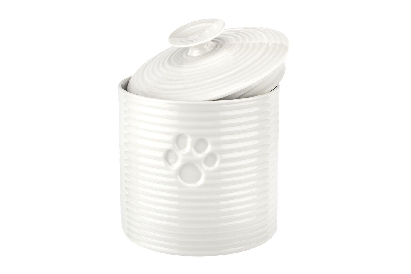 Sophie Conran for Portmeirion White Pet Treat Jar 16.5cm thumb 4