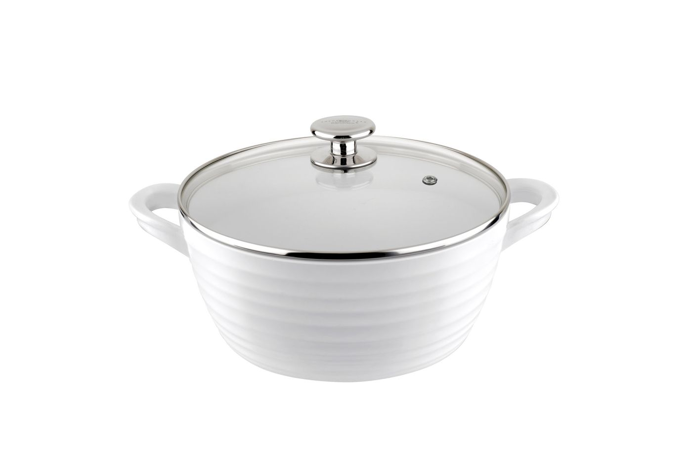 Sophie Conran for Portmeirion Cookware Casserole Dish + Lid Large - White. Metal body with ceramic coating. thumb 1