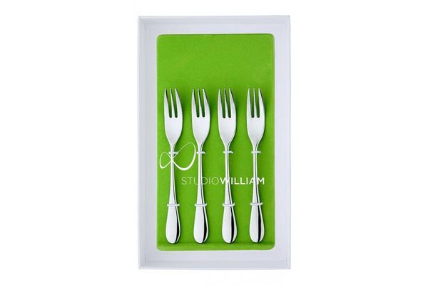 Studio William Mulberry Pastry Fork Set of 4
