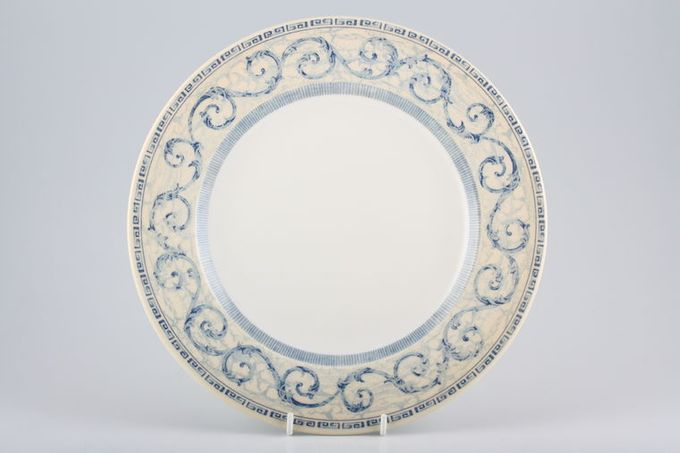 BHS Acanthus - Blue Dinner Plate