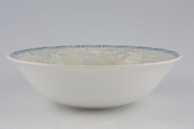"BHS Acanthus - Blue Soup / Cereal Bowl 6 3/4"""