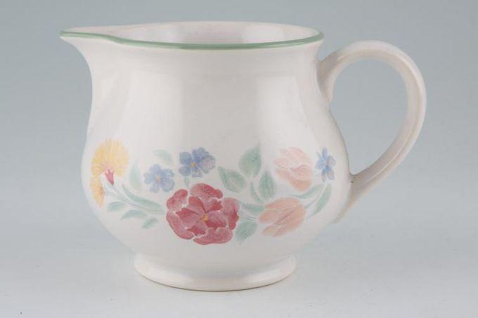 BHS Floral Garden Milk Jug 1/2pt