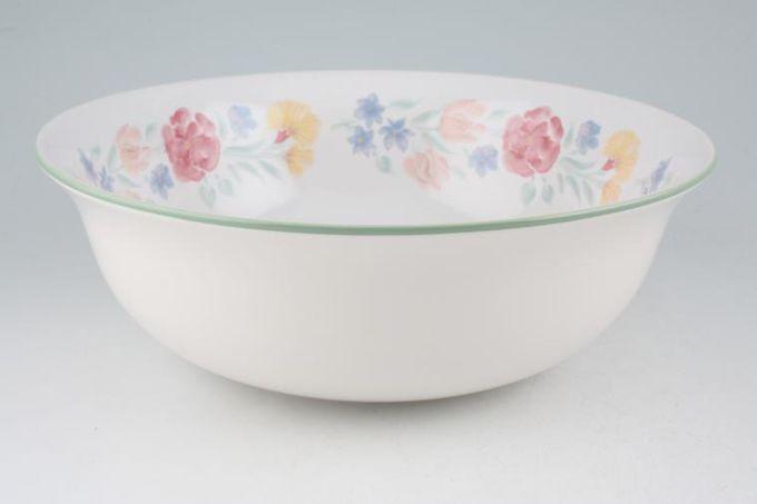 """BHS Floral Garden Serving Bowl 10 1/4"""""""