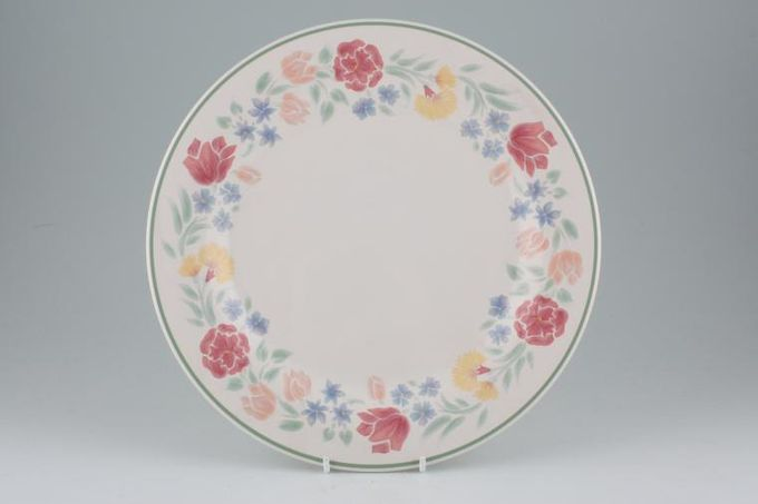 "BHS Floral Garden Dinner Plate 10 3/8"""