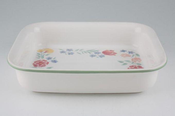 """BHS Floral Garden Roaster 10 1/4 x 8 1/4"""""""