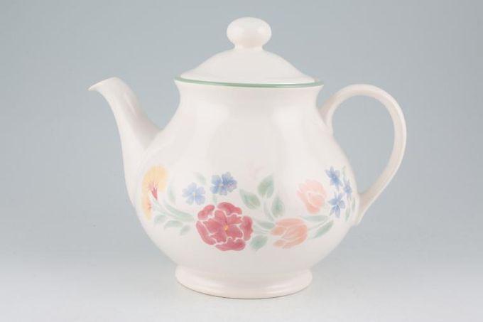 BHS Floral Garden Teapot 2 1/4pt