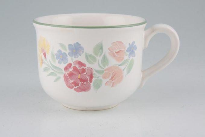 """BHS Floral Garden Teacup 3 1/2 x 2 5/8"""""""