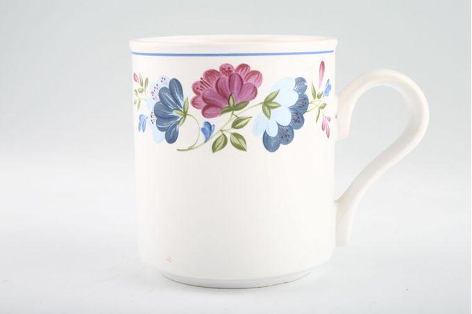 "BHS Priory Mug Straight sided bottom 3 1/8 x 3 5/8"""