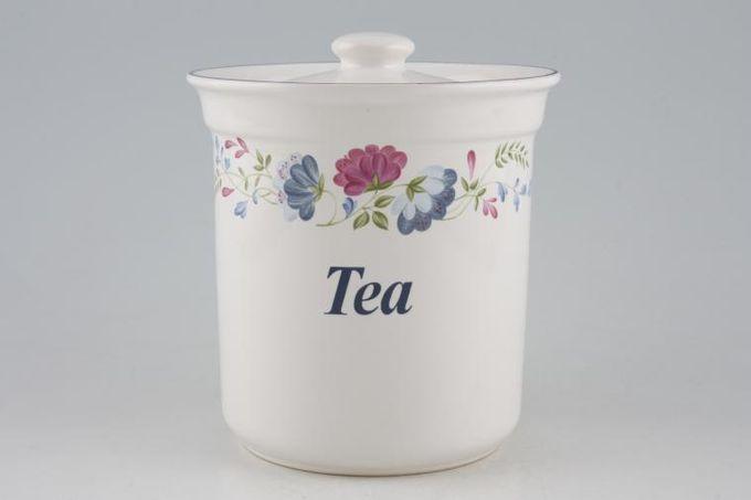 """BHS Priory Storage Jar + Lid Tea 5 1/4"""""""