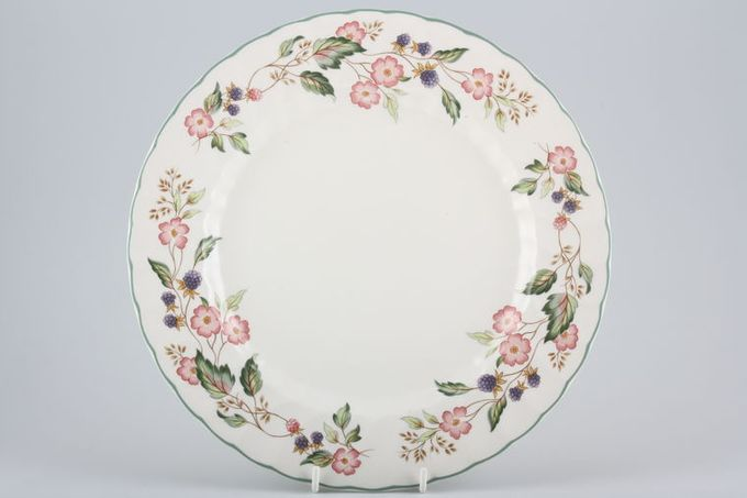 "BHS Victorian Rose Dinner Plate 10 3/4"""