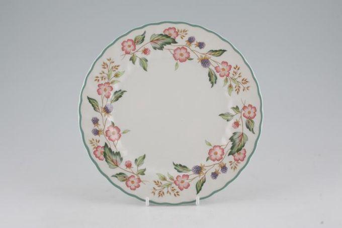 "BHS Victorian Rose Dessert / Salad Plate 8 1/8"""
