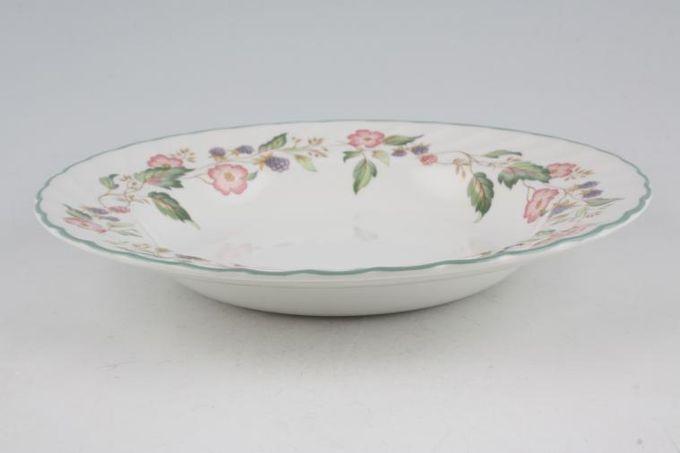 "BHS Victorian Rose Rimmed Bowl 9"""