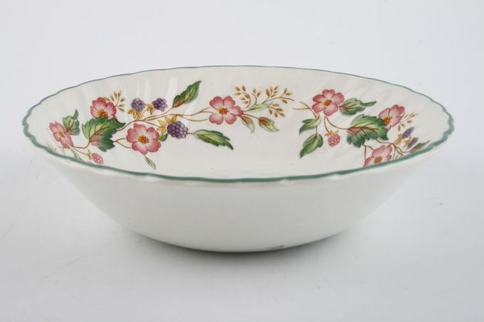 """BHS Victorian Rose Soup / Cereal Bowl 6 5/8"""""""