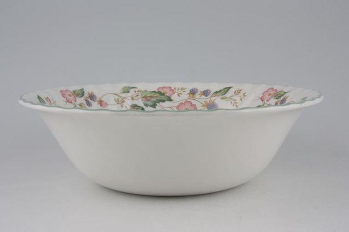 "BHS Victorian Rose Serving Bowl 9"""