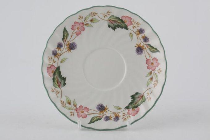 "BHS Victorian Rose Tea Saucer 5 5/8"""