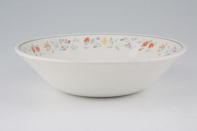 """BHS Botanical Soup / Cereal Bowl 6 1/2"""""""