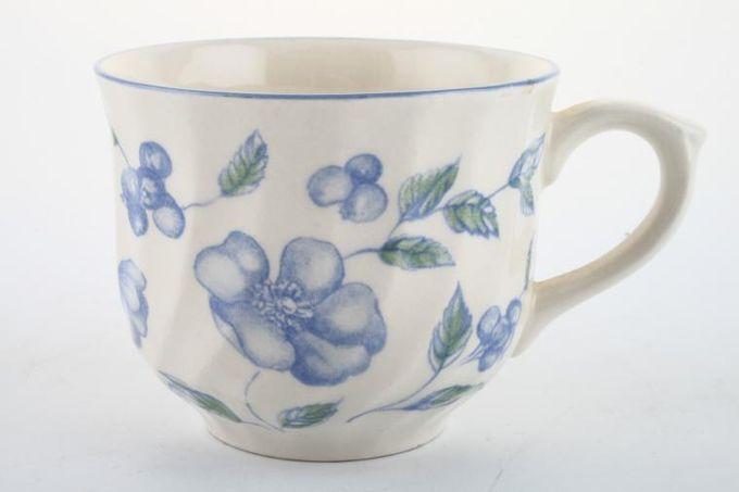 "BHS Bristol Blue Teacup 3 3/8 x 2 3/4"""