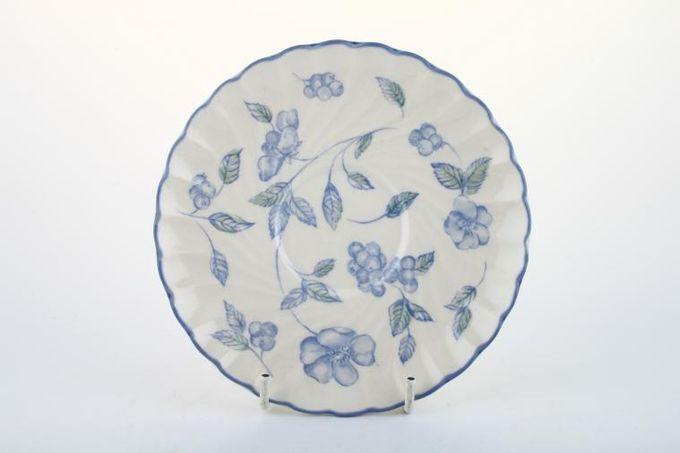"BHS Bristol Blue Tea Saucer 6"""