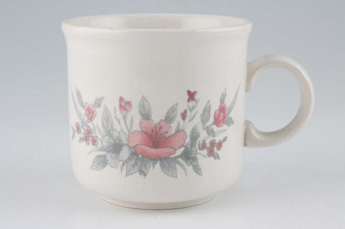 "BHS Garden Rose Teacup 3 3/8 x 3 1/8"""