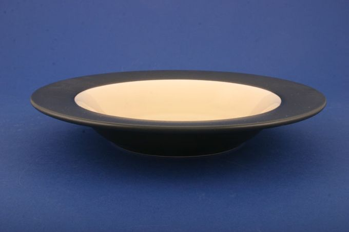 "BHS Graphite - Sand Rimmed Bowl 8 3/4"""