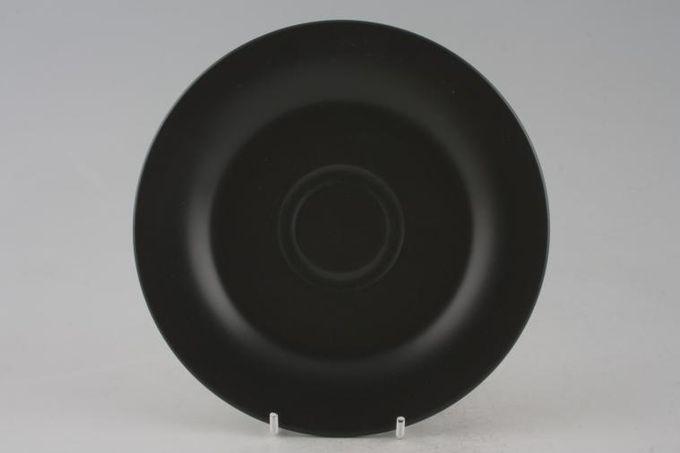 """BHS Graphite - Sand Breakfast Saucer Black 6 7/8"""""""