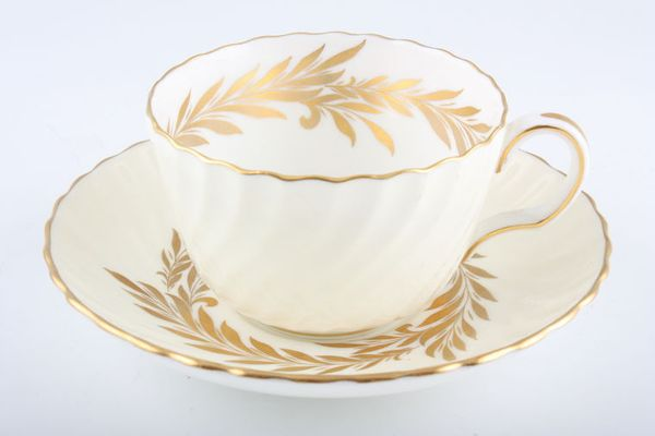 Minton Golden Symphony - Cream + White - H4919