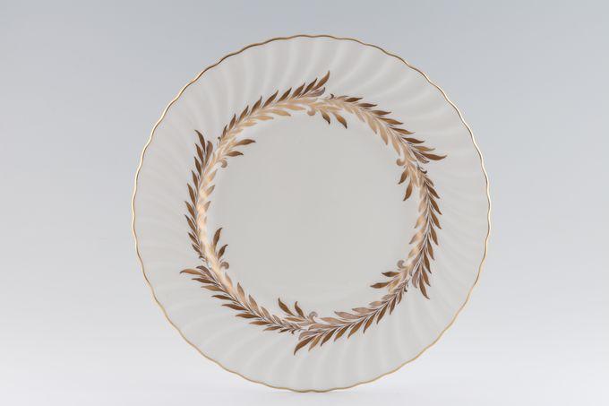 """Minton Golden Symphony - White - H4919 Dinner Plate 10 3/4"""""""