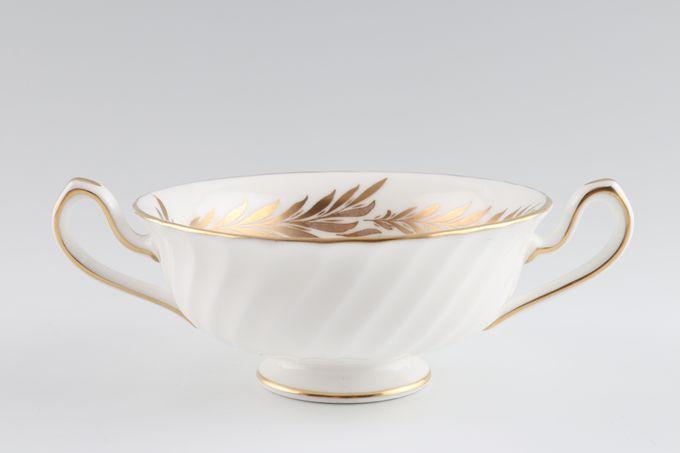 Minton Golden Symphony - White - H4919 Soup Cup 2 open handles