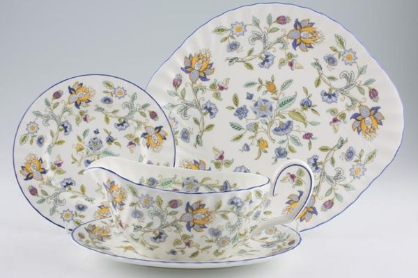 Minton Haddon Hall - Blue Edge - S782