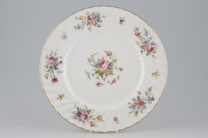 """Minton Marlow - Fluted and Straight Edge Dinner Plate 10 5/8"""""""