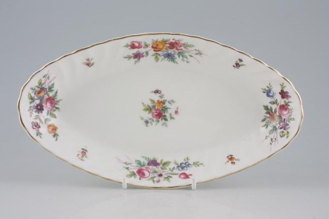 """Minton Marlow - Fluted and Straight Edge Dish (Giftware) Diamond shape 9 1/4 x 5"""""""