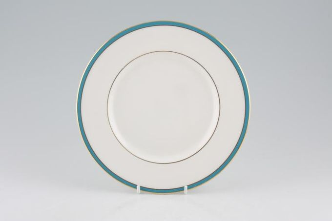 Minton Saturn - Turquoise Breakfast / Salad / Luncheon Plate 8""
