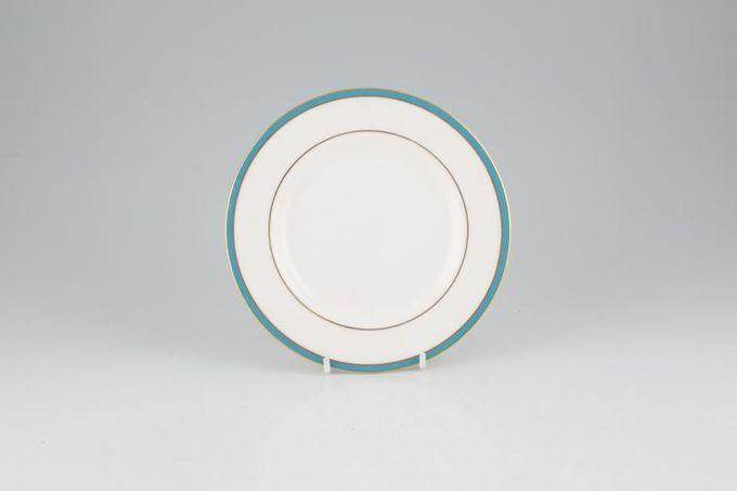 "Minton Saturn - Turquoise Tea / Side / Bread & Butter Plate 6 1/2"""