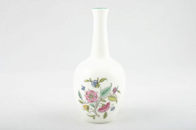 "Minton Haddon Hall - Green Edge Bud Vase 5 1/4"""