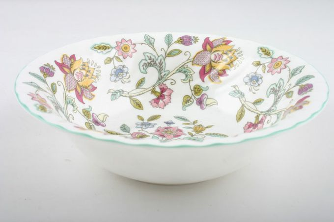 Minton Haddon Hall - Green Edge Oatmeal / Cereal / Soup 6 1/2""