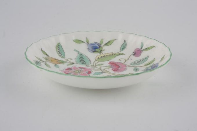Minton Haddon Hall - Green Edge Sweet Dish 4 1/4""