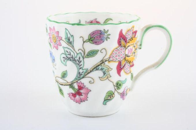 "Minton Haddon Hall - Green Edge Coffee Cup 2 1/8 x 2 1/8"""