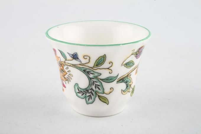Minton Haddon Hall - Green Edge Egg Cup 2 x 1 1/2""