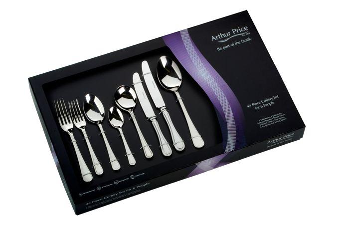 Arthur Price Everyday Britannia 44 Piece Cutlery Set