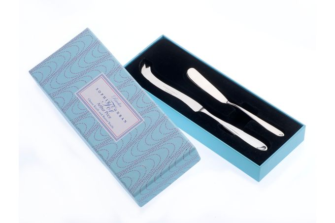 Sophie Conran for Arthur Price Rivelin Cheese and Butter Knife Set