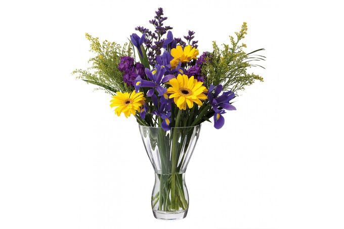 Dartington Crystal Florabundance Vase Bouquet Vase