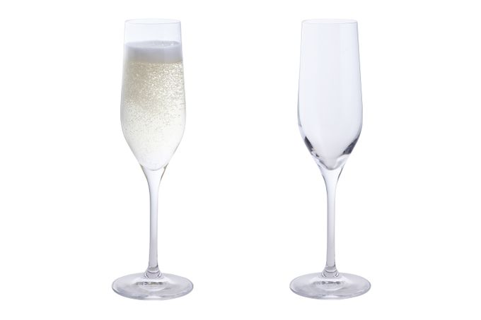 Dartington Crystal Wine & Bar Pair of Flutes 180ml