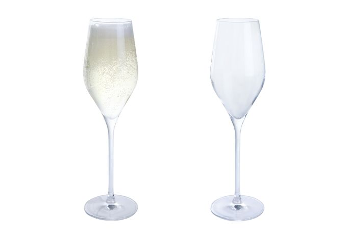 Dartington Crystal Wine & Bar Pair of Prosecco Glasses 260ml