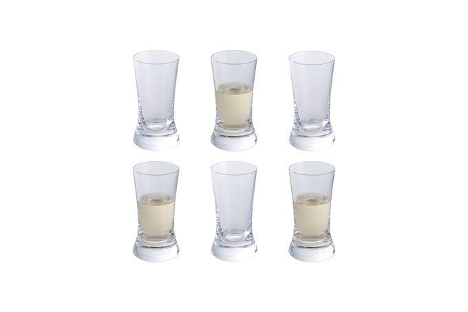 Dartington Crystal Wine & Bar Set of 6 Shot Glasses 45ml