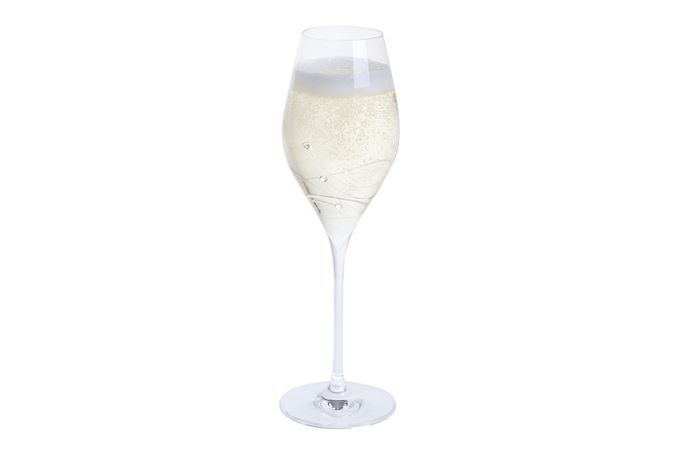 Dartington Crystal Glitz Pair of Prosecco Glasses