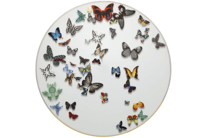 Christian Lacroix Butterfly Parade Charger 33.5cm