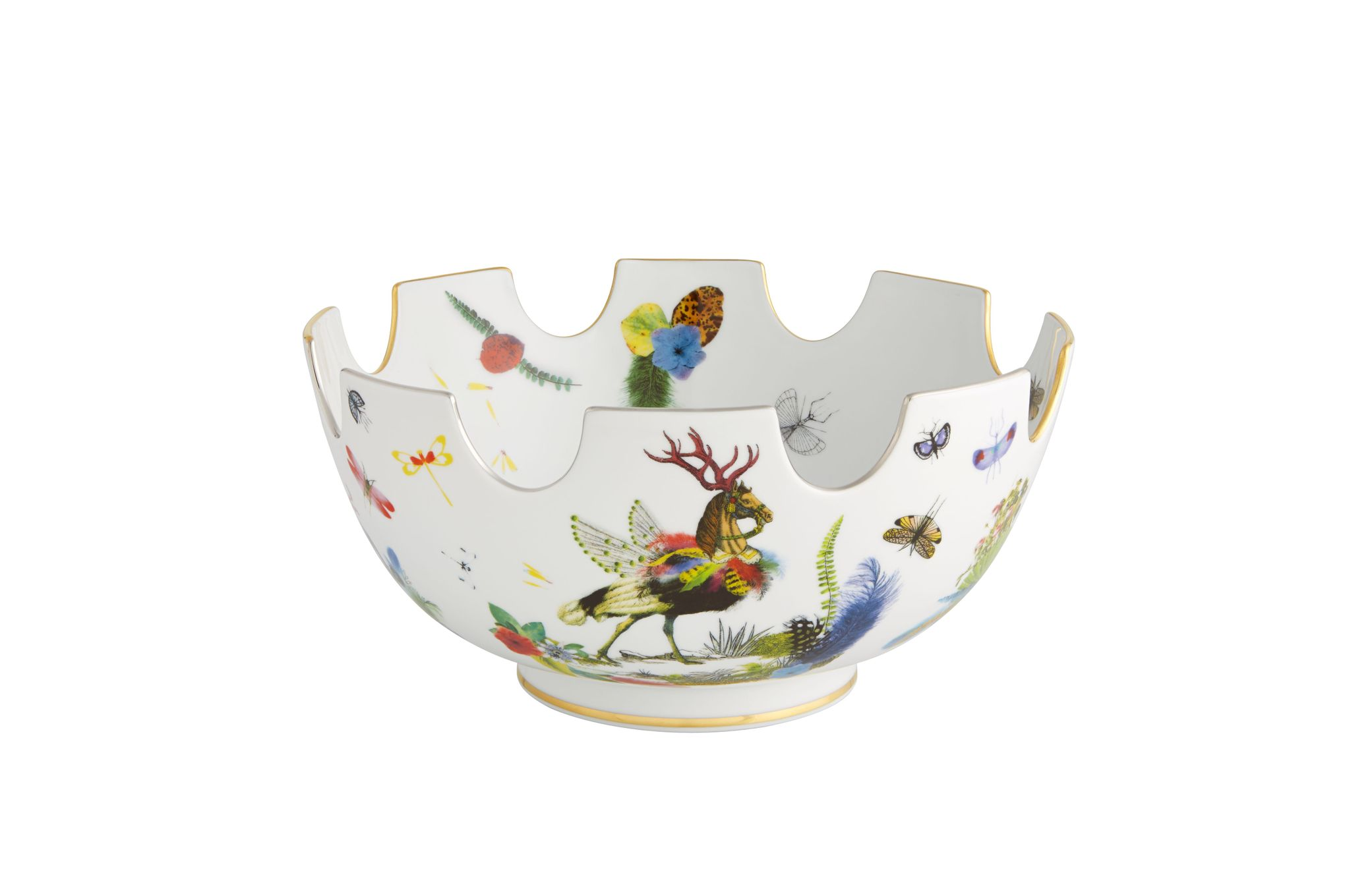 Christian Lacroix Caribe Serving Bowl Gift Boxed 32.1 x 16.5cm thumb 1